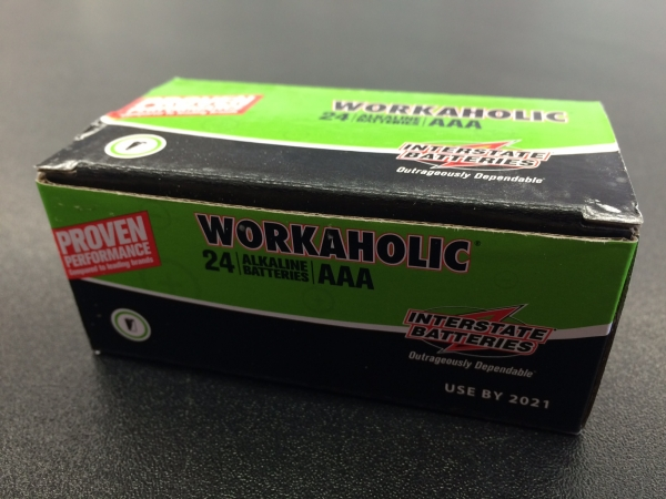 Interstate Batteries Workaholic AAA - 24 Pack