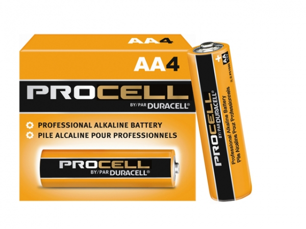 Duracell Procell AA - 4 Pack
