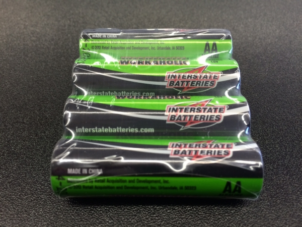 Interstate Batteries Workaholic AA - 4 Pack