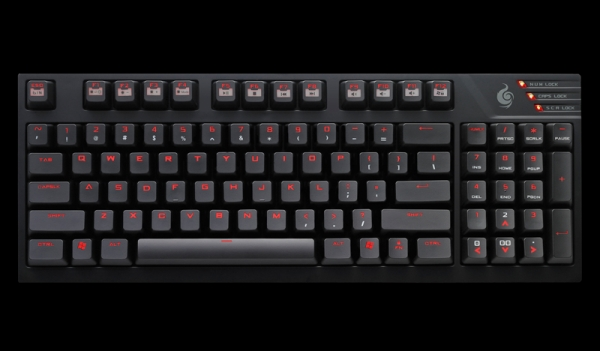 CM Storm Quick Fire TK Fully Backlit Mechanical Keyboard Red Switches - SGK-4020-GKCR1