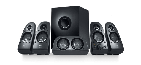 Logitech z506 Surround Sound Speaker System - 980-000430