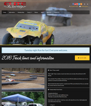 Elite Racing - Responsive WordPress Website